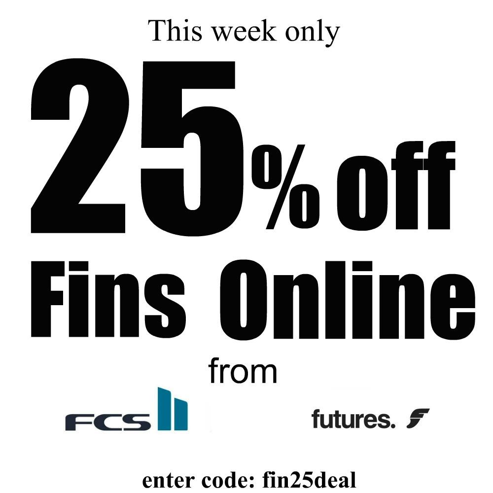 Zak Surfboards Online Fin Sale