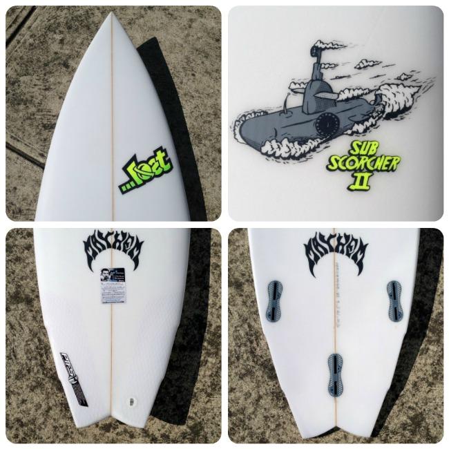 ...lost Surfboards Sub-Schorcher II 2
