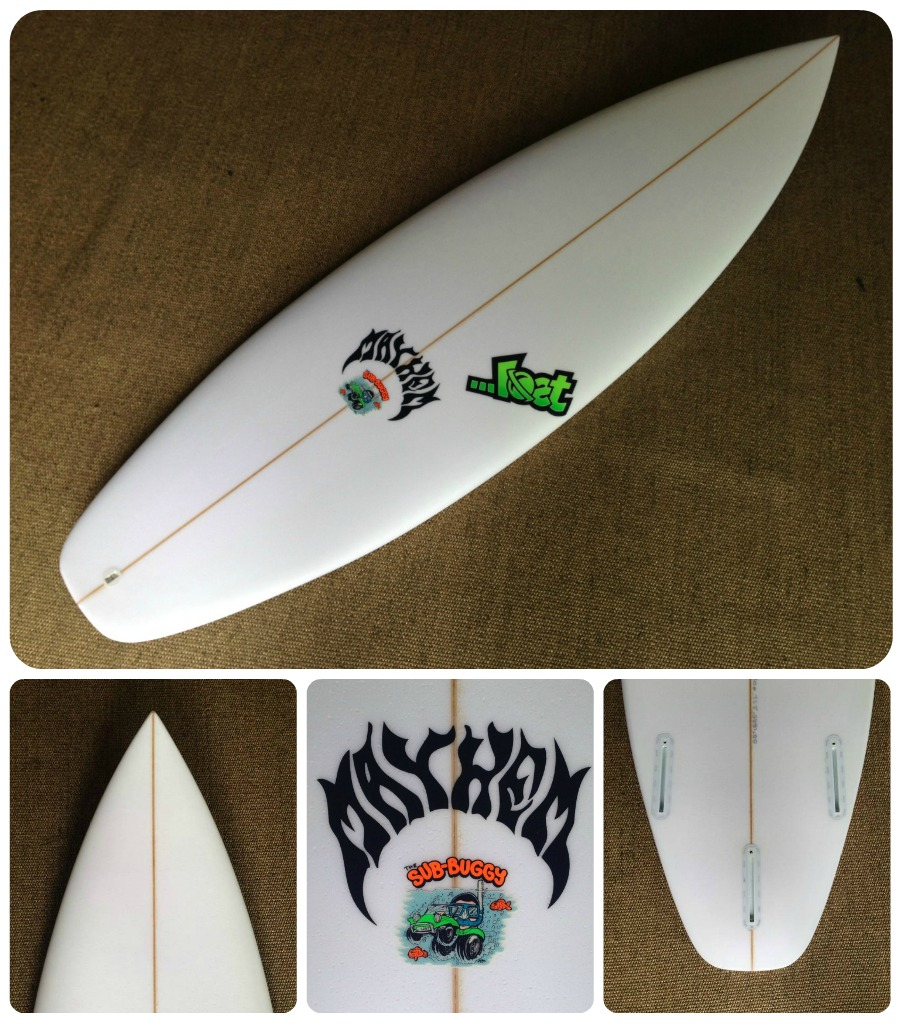 Custom Surfboards ...Lost Sub Buggy EPS