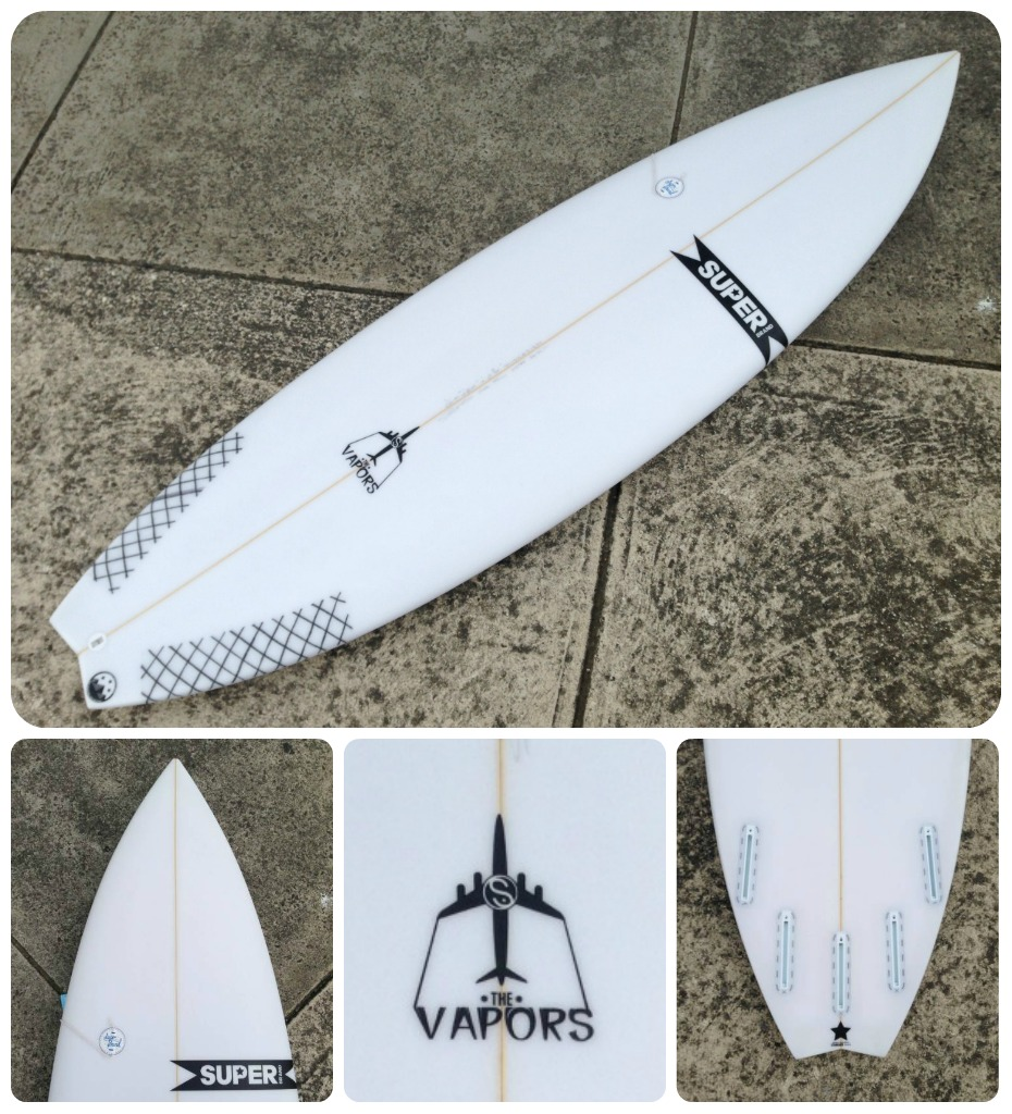 Custom Surfboards SuperBrand Vapors Swallow