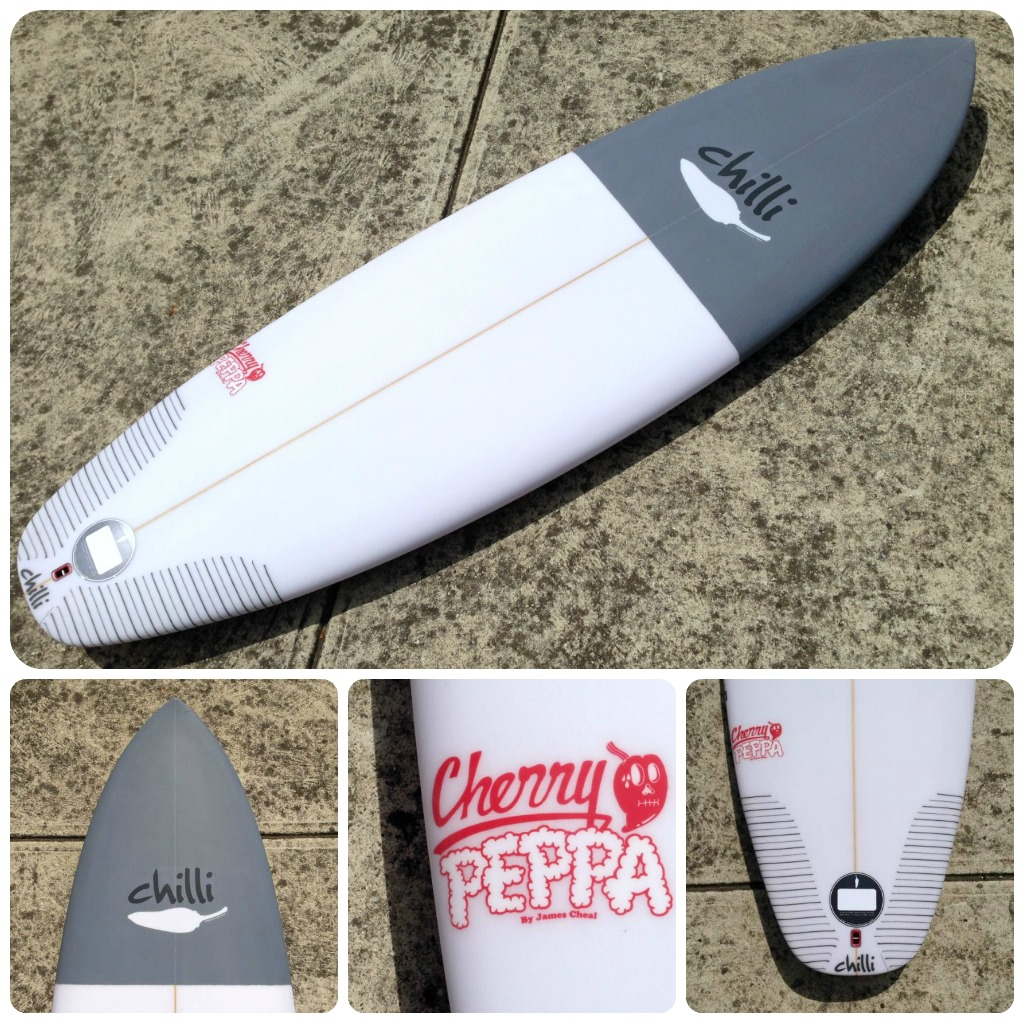 Chilli Cherry Peppa Custom Surfboards 1