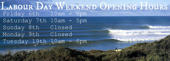 Labour Day Weekend Opening Hours 2