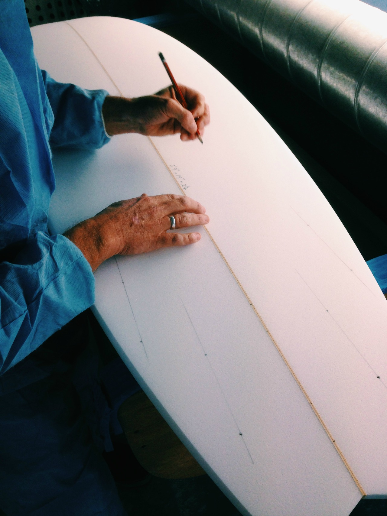 How to make your own Surfboard Course 13th July 5