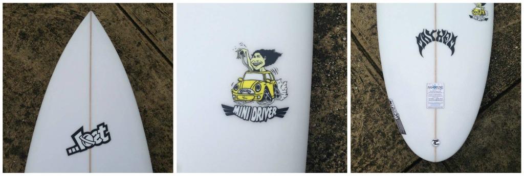...Lost Mini Driver collage 1