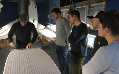 The Surfboard Studio in Action