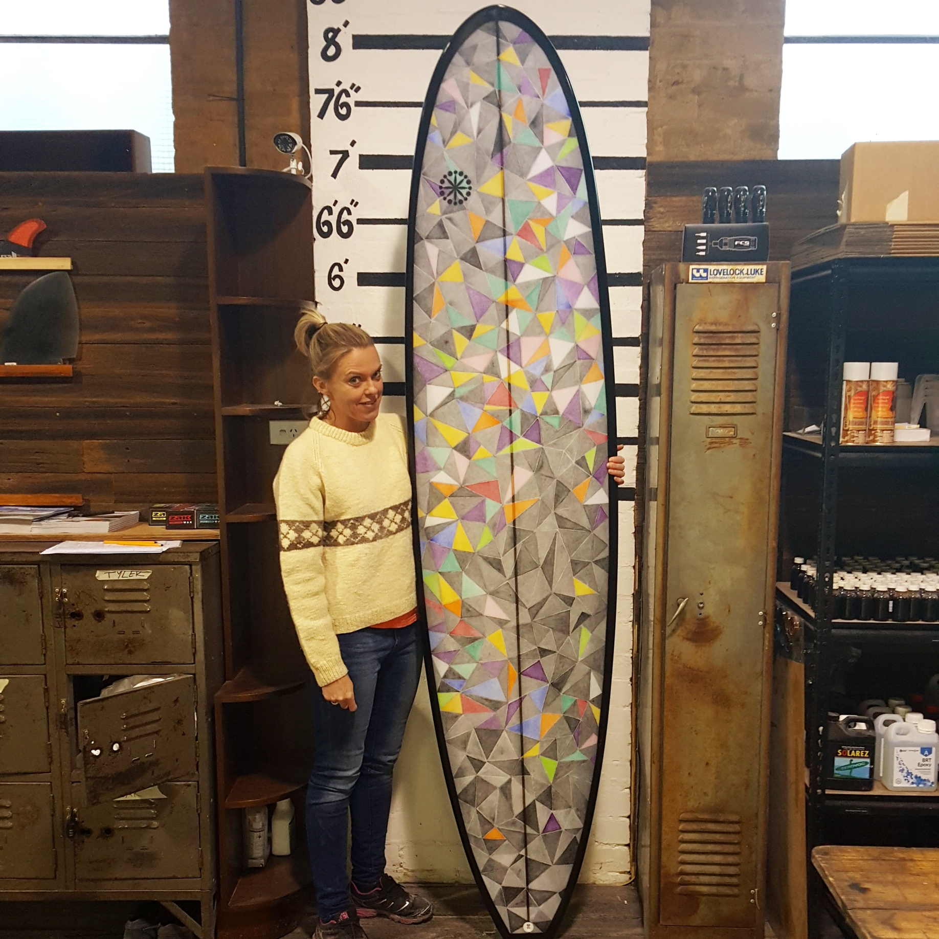 Make Your Own Surfboard Course July 3