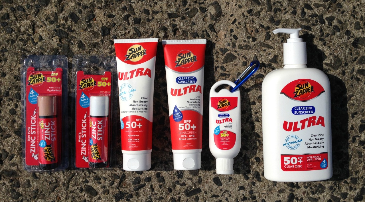 New Sunscreen range in store and Online