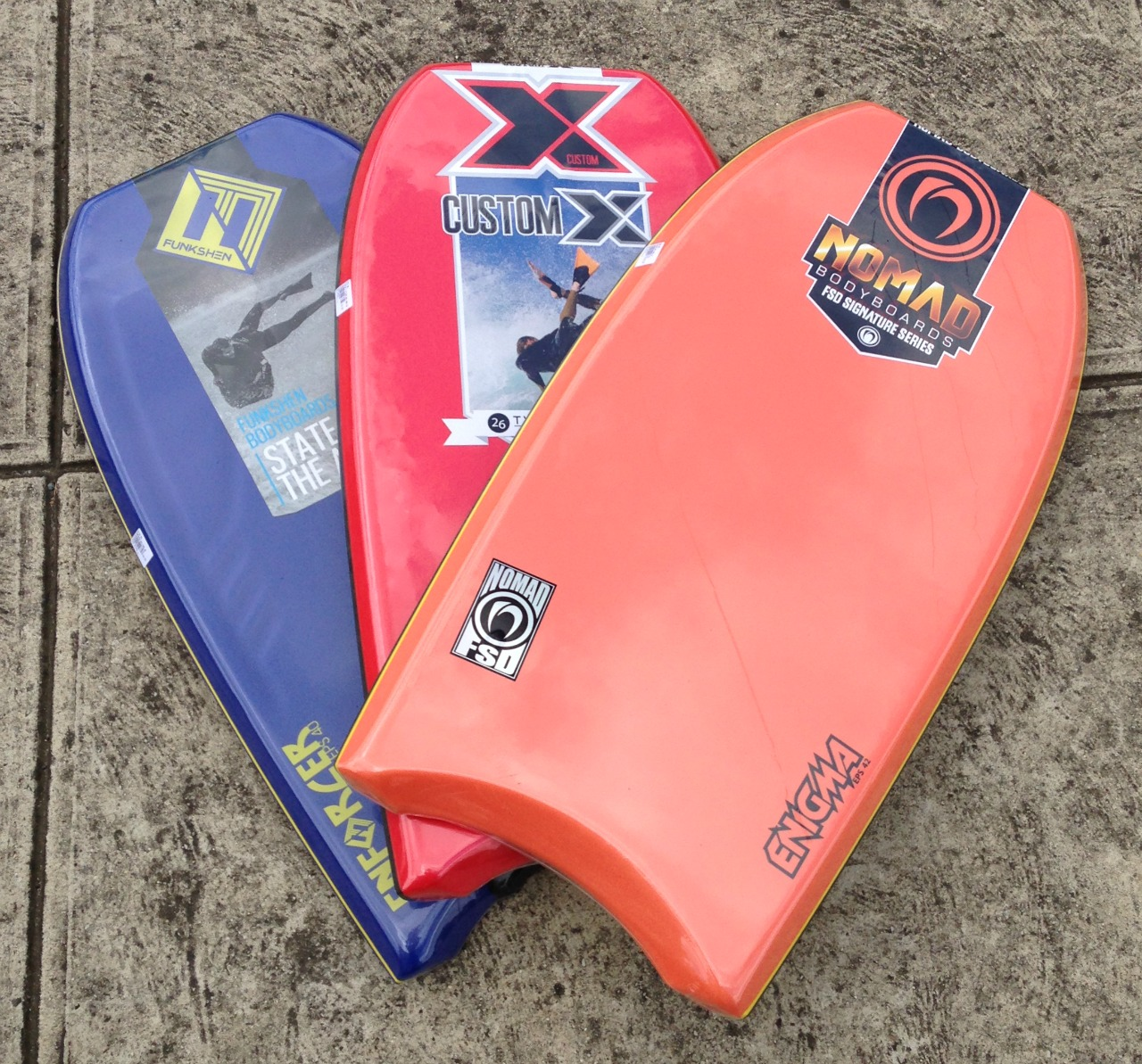 Fully stocked with Bodyboards and accessories