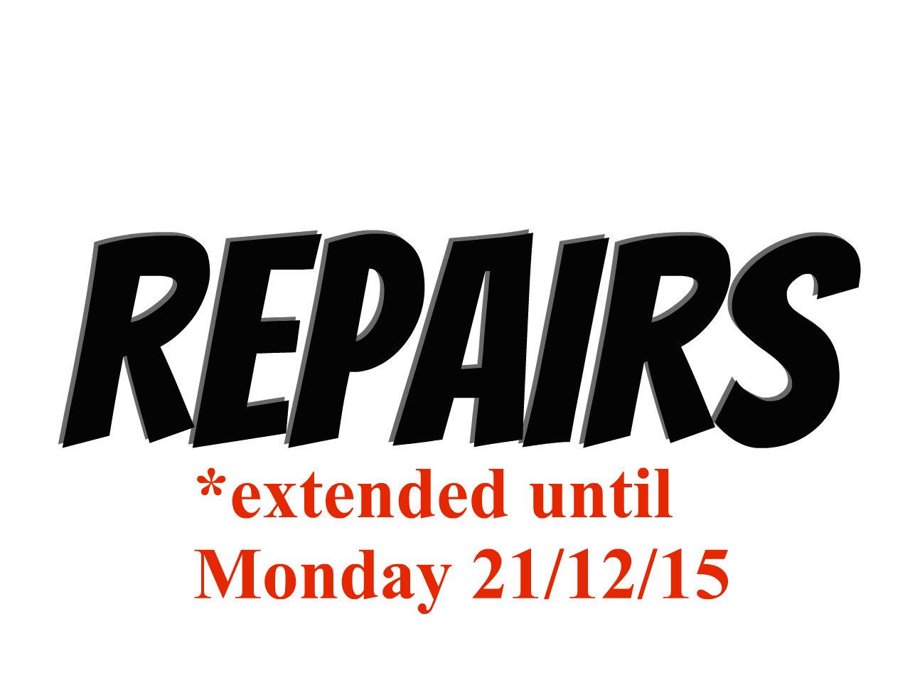 X-mas Repair Cut off