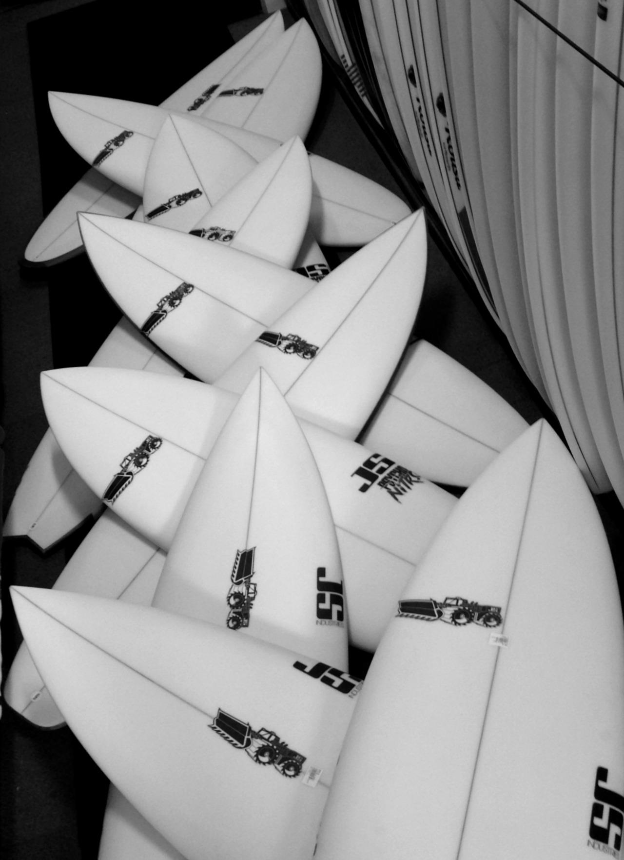 Big top up of JS Industries Surfboard models just arrived