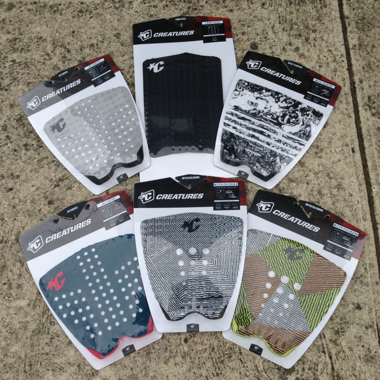 New Creatures Pads now in store