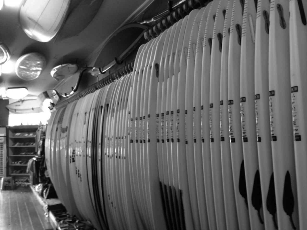 Clearance Surfboards on our racks