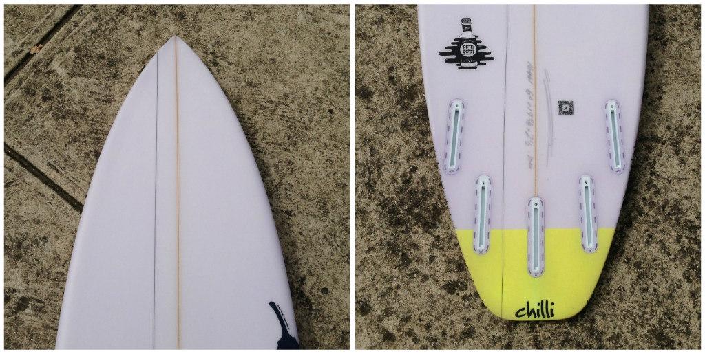 Chilli Peri Peri Collage 2 by Zak Surfboards