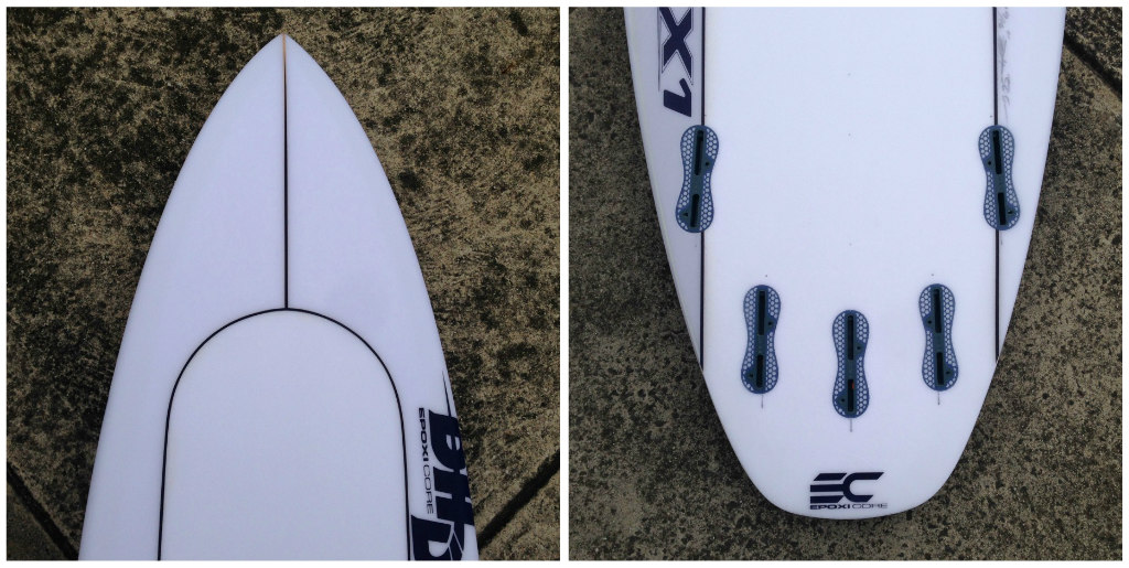 DHD Epoxicore DX1 by Zak Surfboards Collage  2