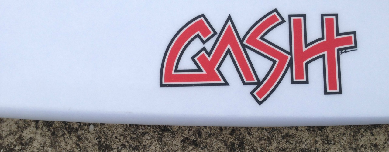 New Gash Surfboards on our Racks