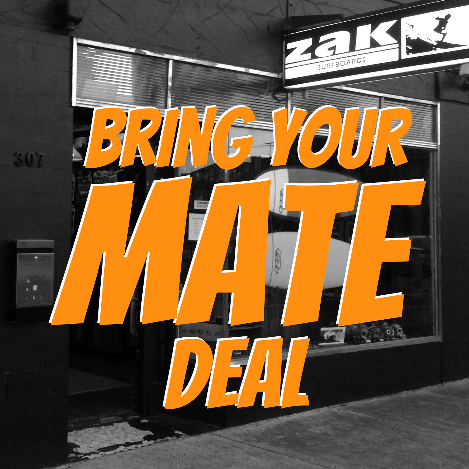 Bring Your Mate Deal