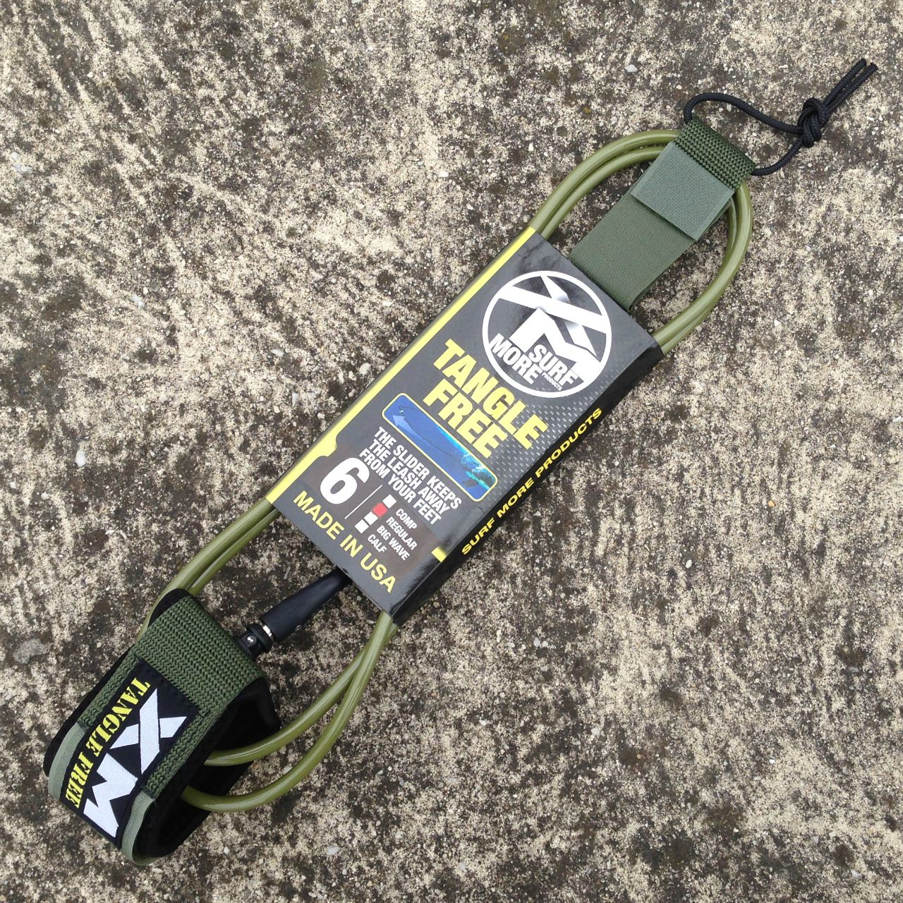XM Tangle Free Leashes Back In Stock by Zak Surfboards