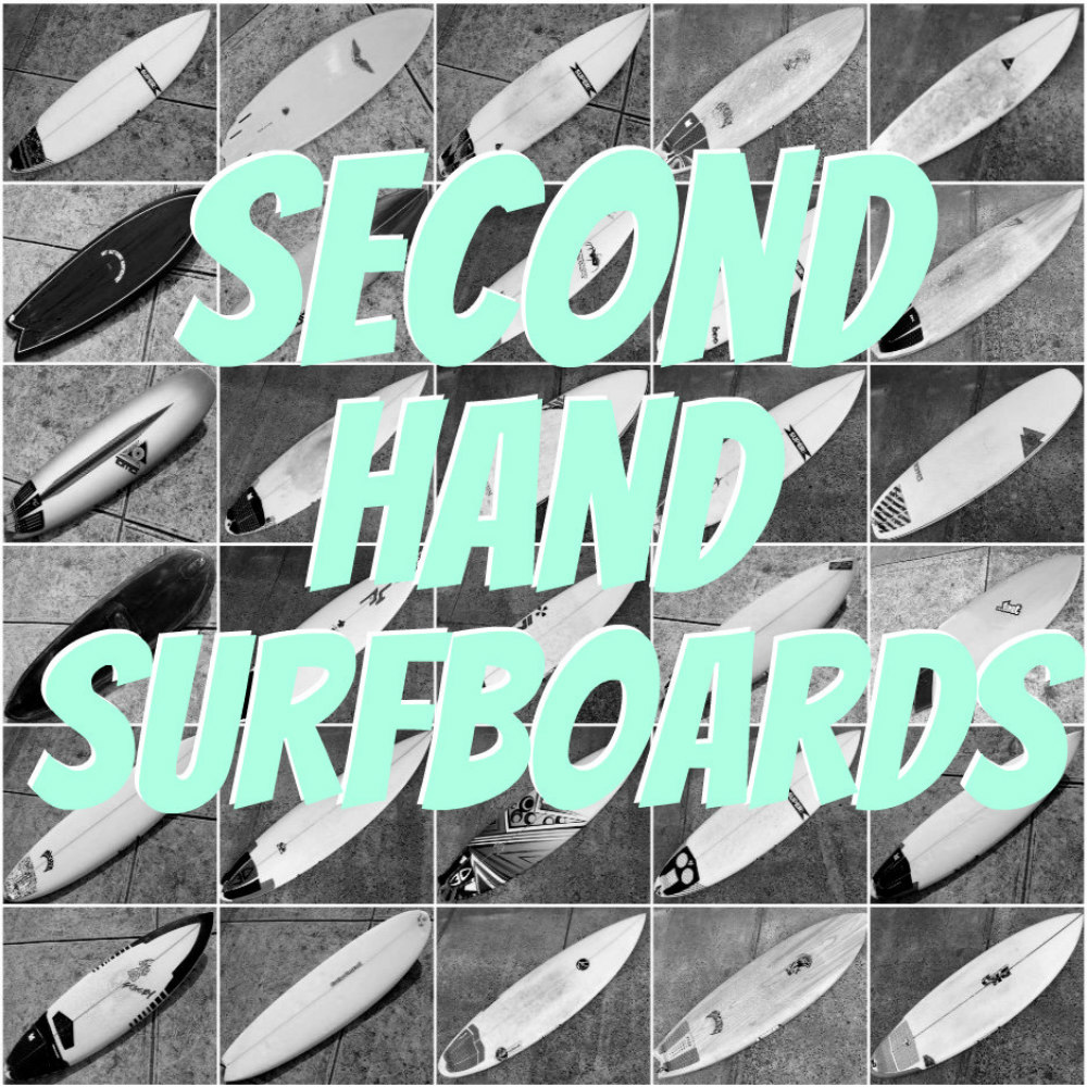 Over 30  new Secondhand Surfboards