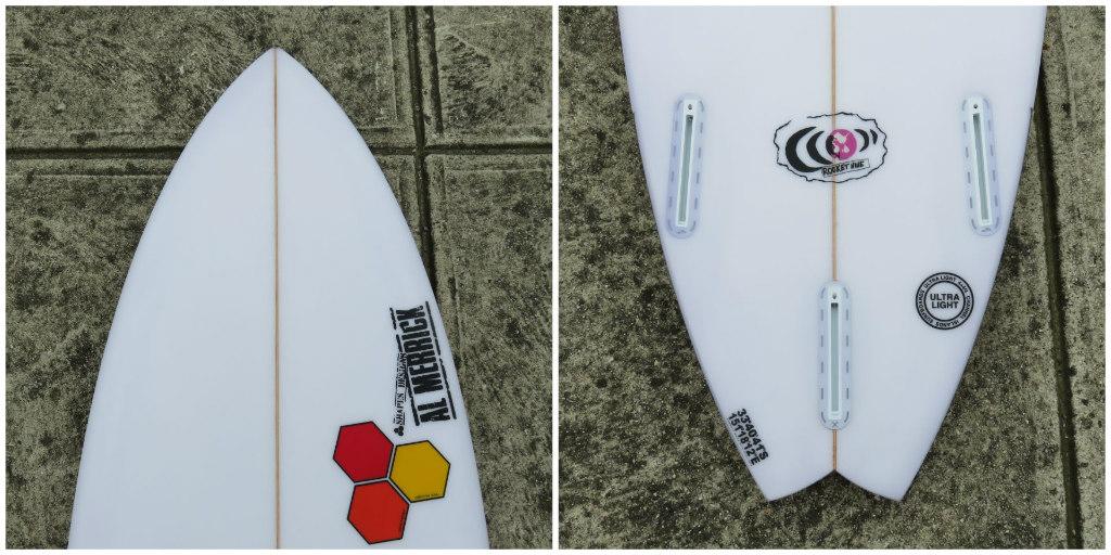 Channel Islands Rocket 9 Collage B