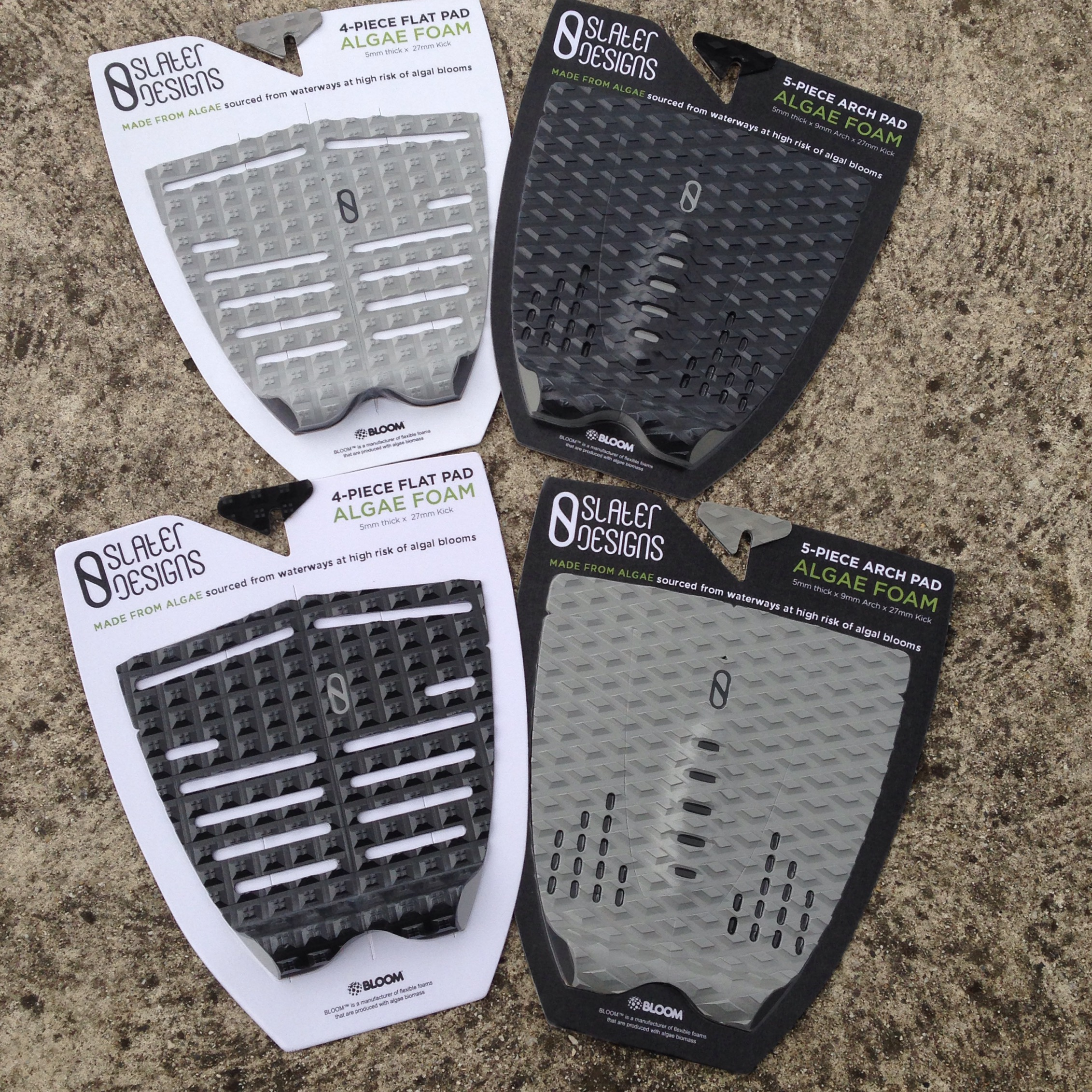 Slater Designs Tail Pads