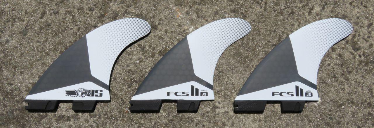FCSII JS Shaper Series Fins
