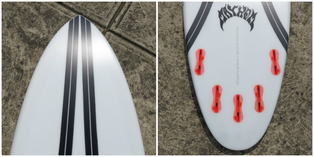 ...Lost Carbon Wrap Quiver Killer Collage 2