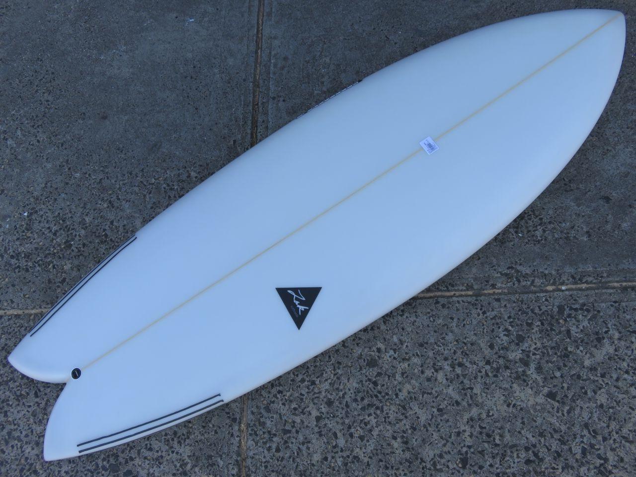 Twin Fin Surfboard Models - Zak Twin Fin Fish