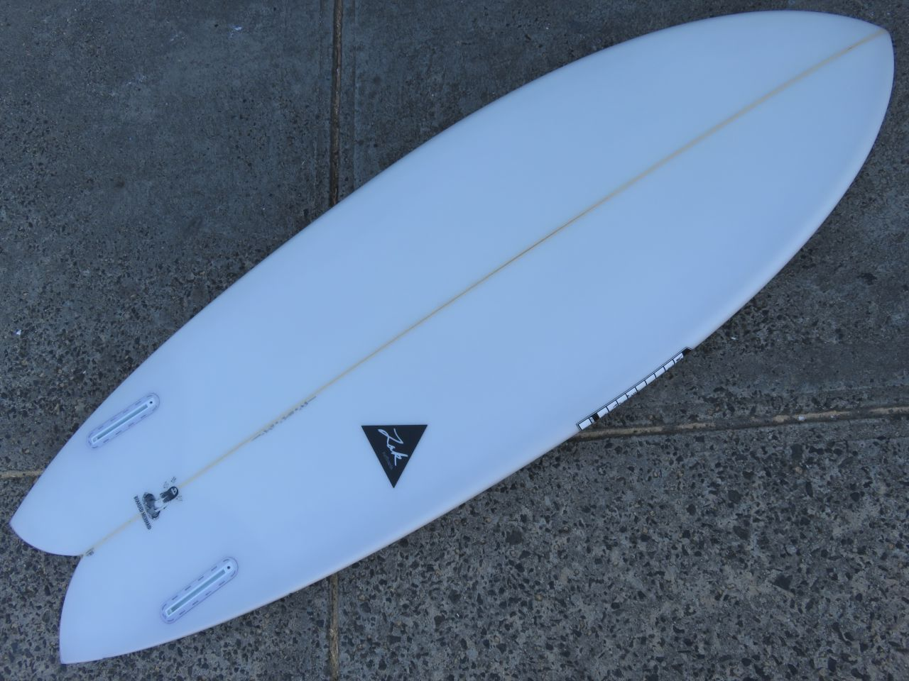Twin Fin Surfboard Models - Zak Twin Fin Fish