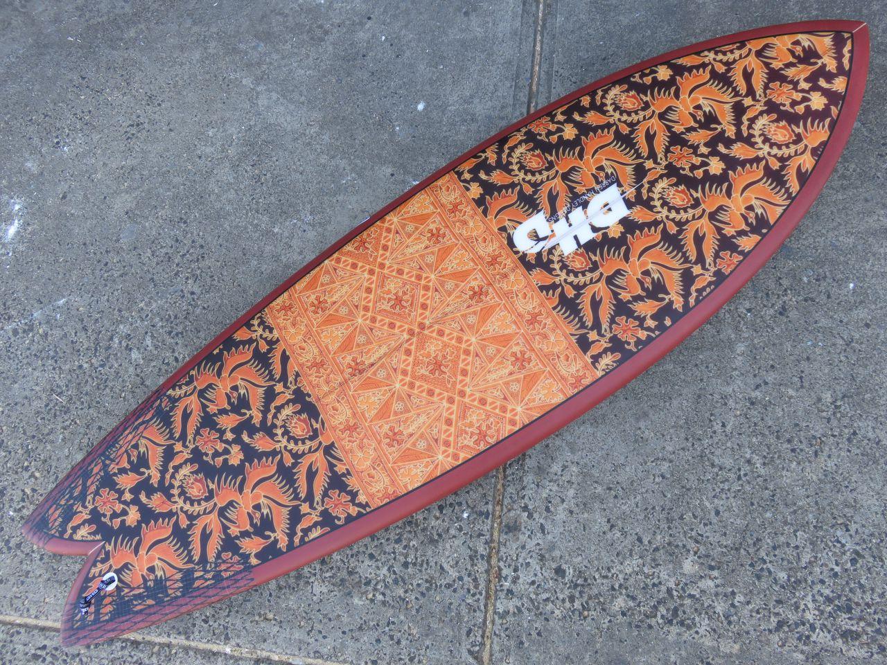 Twin Fin Surfboard Models - DHD Mini Twin