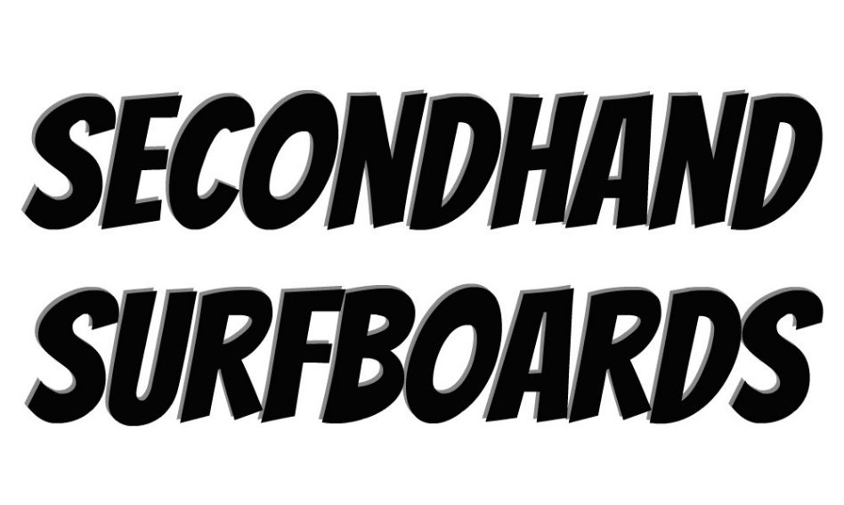 New on the Secondhand Surfboard Rack