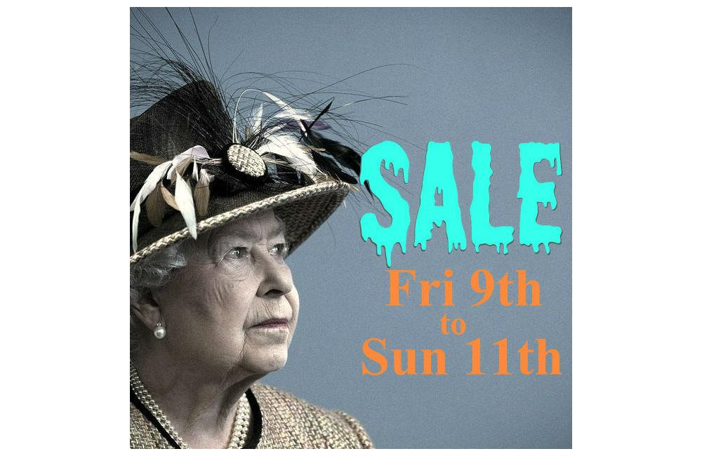 Queen's Birthday Weekend Sale