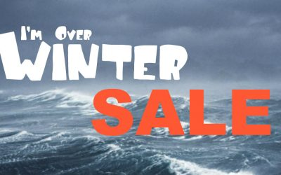 I'm Over Winter Sale