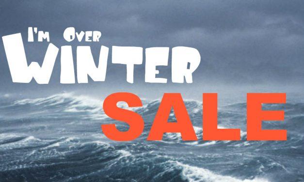 I'm Over Winter Sale
