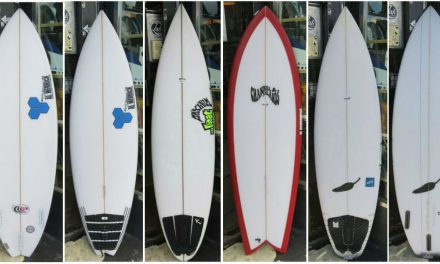Secondhand Surfboards on our racks