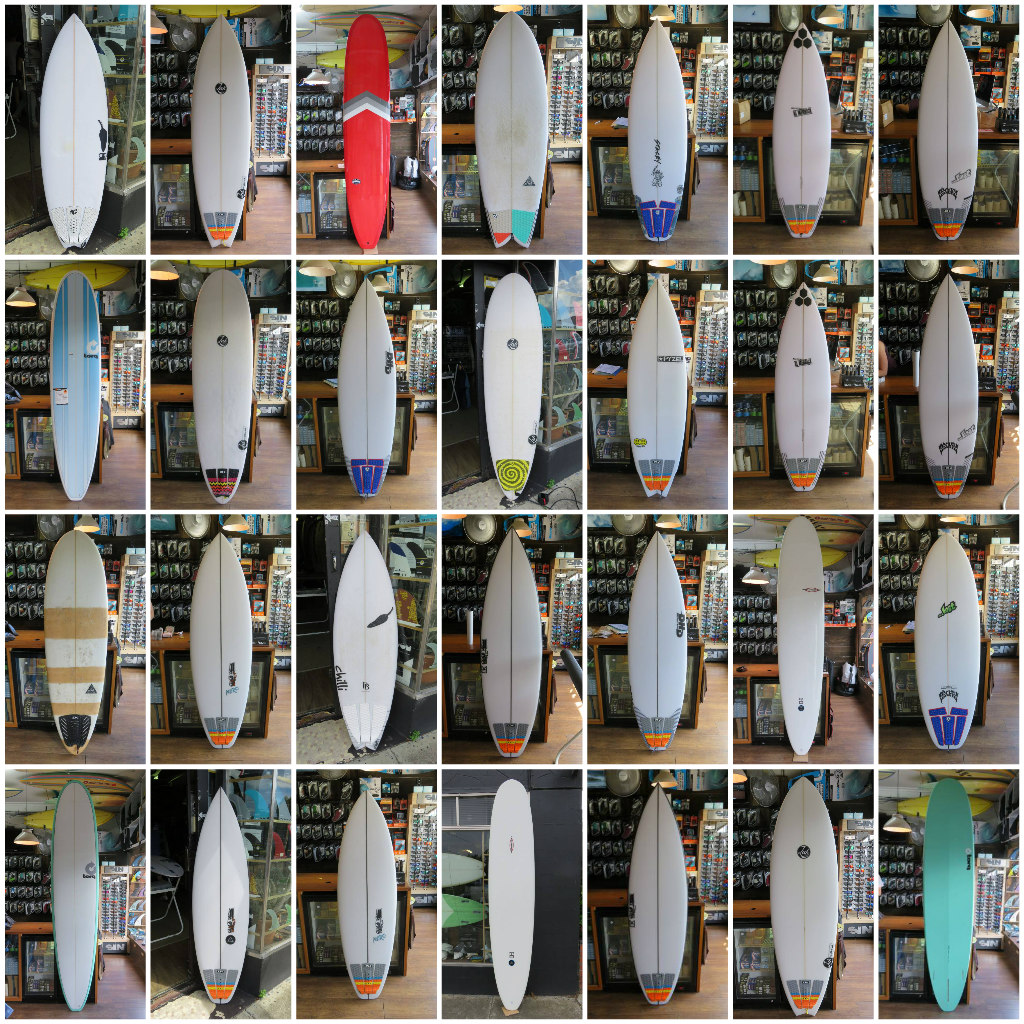 HIRE AND DEMO Surfboards