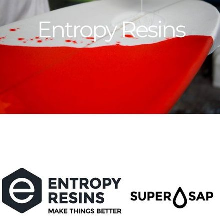 SUPER SAP BRT Epoxy System is an optically brightened, clear laminating system, designed specifically for ultra white cosmetic applications such as surfboard laminations over EPS (polystyrene) or PU (polyurethane) foam