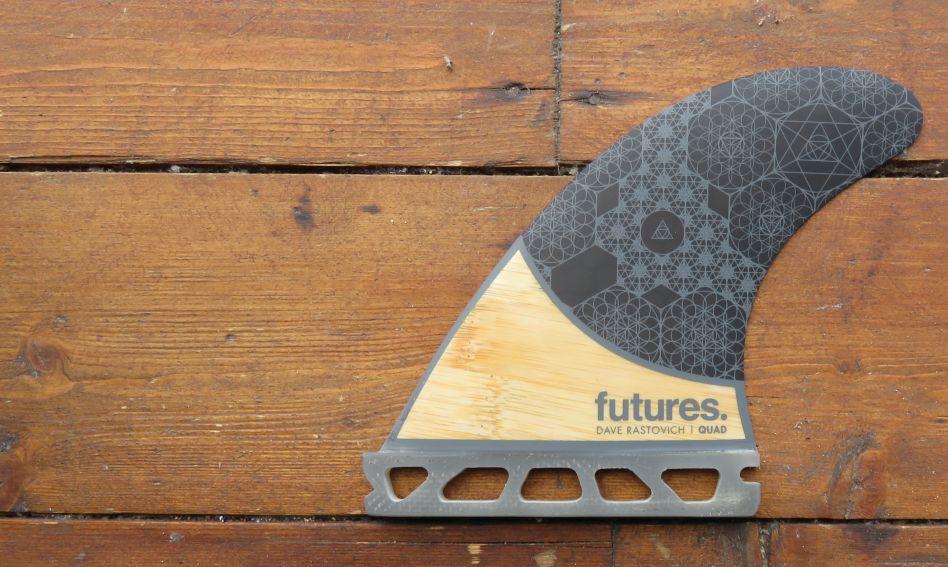 Futures Rasta Bamboo Quad