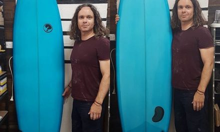 Ryan finished up with his amazing 7'0 hybrid