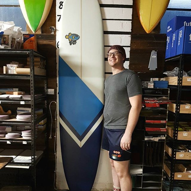How's This Mal. Ben shaped up this amazing 8'8 Mal this thing came out again showroom quality.  Solid spray job super clean lines well done Ben.