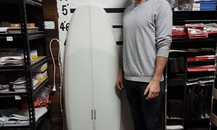 Julian finished up with his 5'2 Simmons Keel
