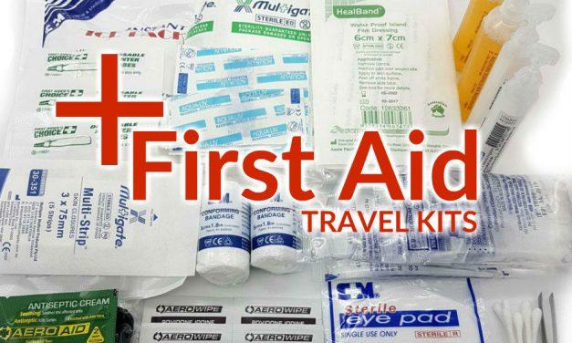 First Aid Travel Kits
