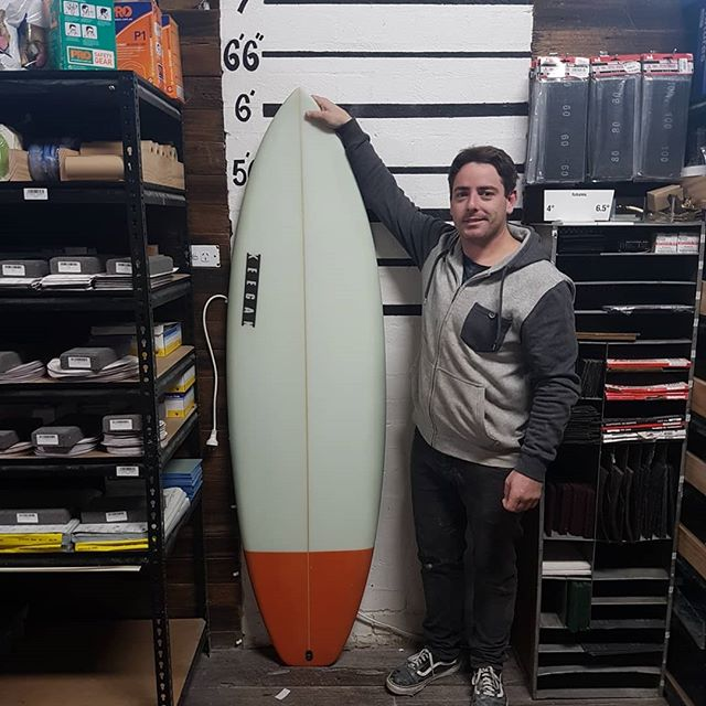 Sean finished up with his own model called the Pork Belly. super wide and chunky this sled will will pick up anything.