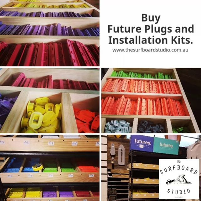 Buy all your Future pkugs and installation kits online and instore. Checkout www.thesurfboardstudio.com.au