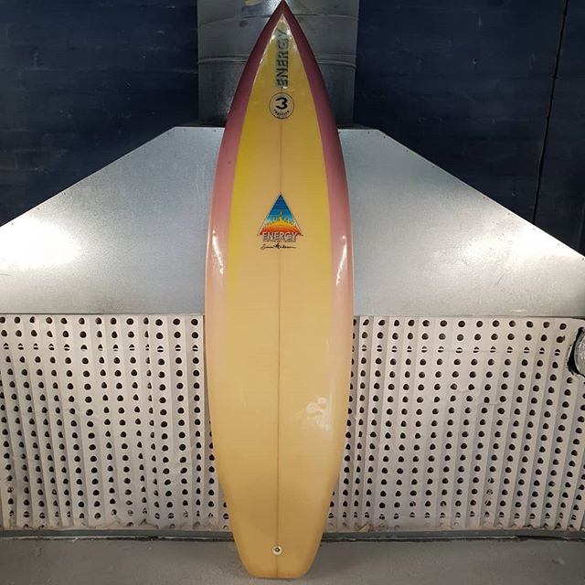 Simon Anderson Thruster 6'3.  Serial number 4541. Any idea what it's worth l would say 8/10. Not selling yet but will at the right price.