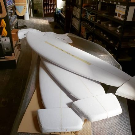 Looks like summer is coming when shops like Zak Surfboards start ordering Fishes
