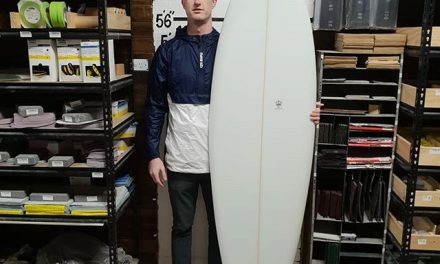 Mitch finish up with this super clean 6'6 single fin diamond tail