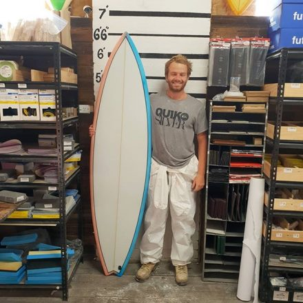 Joel whipped up this 6'6 step up for Winki