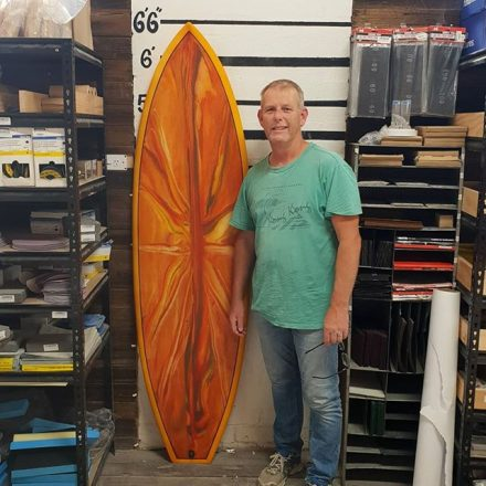 Mick, the wise one of them all whipped up this amazing 6'6 hybrid