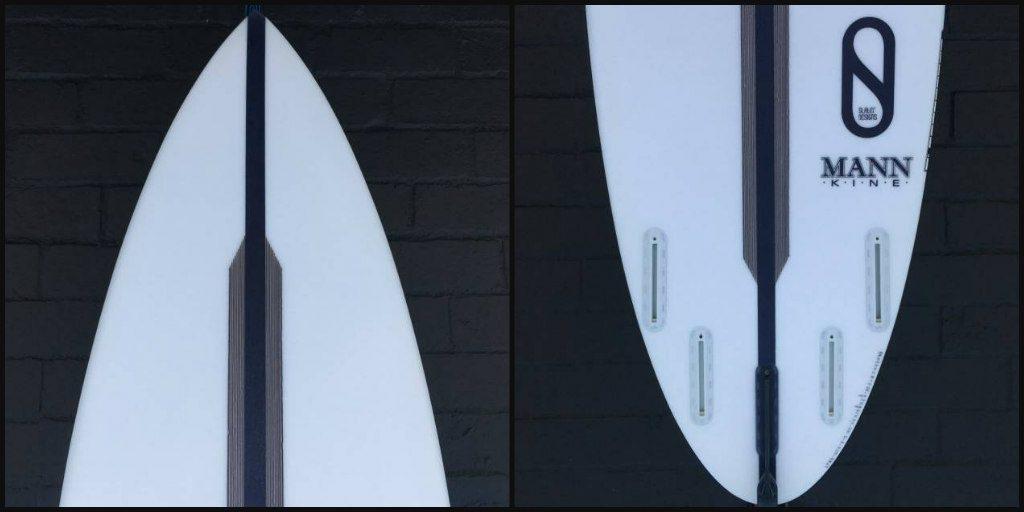 Kelly Slater FRK Dan Mann Collage Nose Tail Bottom