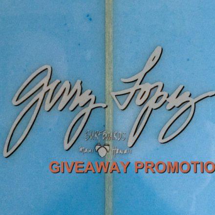 Gerry Lopez Lil' Darlin Giveaway